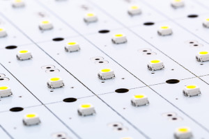 SMD LEDs on White PCB, Commercial and Industrial LED Light Produ